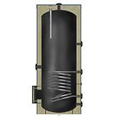 Zonneboiler boiler met 1 warmte wisselaar