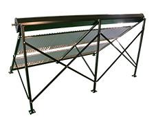 Zonneboiler plat dak frame